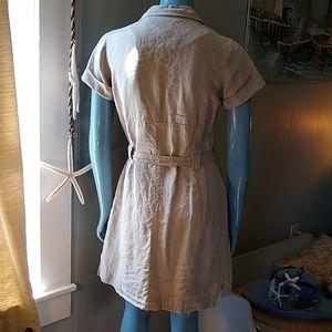 Musto Dresses - Musto Sample Khaki Safari Shirtdress